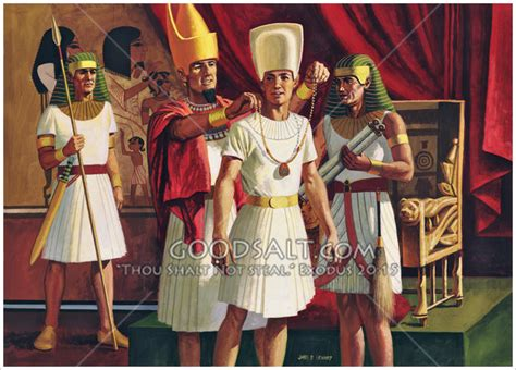 Joseph Becomes Ruler in Egypt