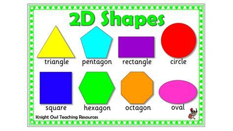 2D Shapes Mat