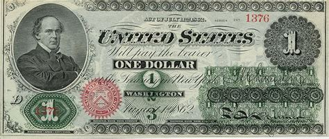 First One Dollar Bill - First Dollar History Post