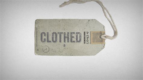 A Biblical Theology of Clothing - Place for Truth