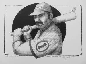 Mighty Casey at Bat - Welcome to Wayne Hunt Huebner 4 Art