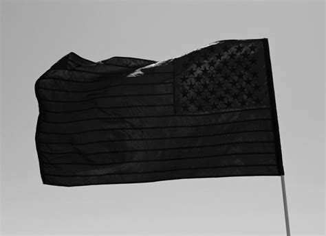 The All Black American Flag - Stampd