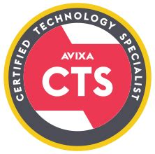About The Certified Technology Specialist (CTS) Credential ...
