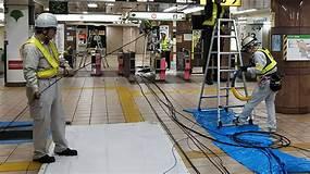 駅構内監視カメラ増設工事 進捗状況   株式会社オプテック