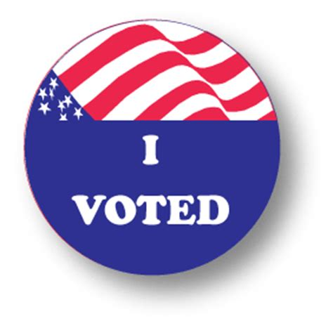I Voted – LabelsUSA