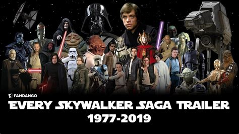 ALL Star Wars: Skywalker Saga Trailers (1977-2019 ...