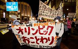 The Olympic Machine Meets With Protest in Tokyo   The Nation