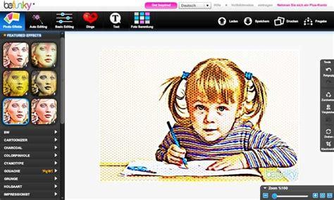 BeFunky ferramenta online de edição de imagens e capa para podcasts