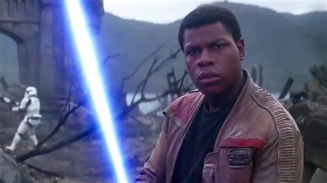 STAR WARS: The Force Awakens TV Spot #6 - Finn (2015 ...