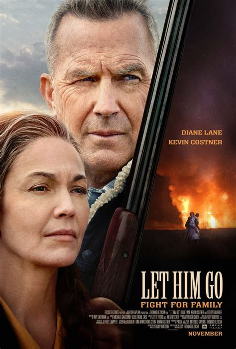 Official Poster for 'Let Him Go' Starring Kevin Costner ...
