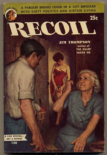 RECOIL   Jim Thompson   First edition