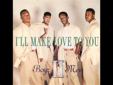 Boyz II Men - I'll Make Love To You - YouTube
