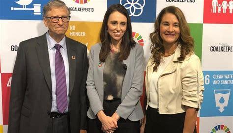 Jacinda Ardern meets Bill, Melinda Gates during New York ...