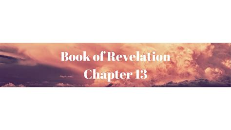 (Book of Revelation Chapter 13) - YouTube