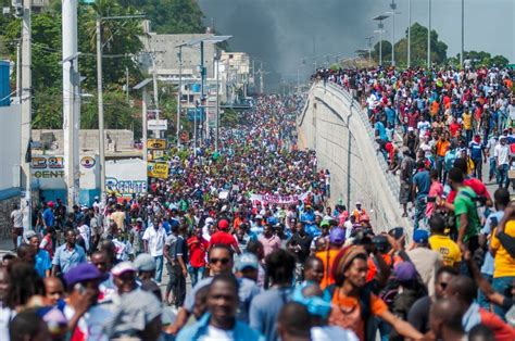 Thousands of Haitians protest corruption, rising living costs   New Straits Times   Malaysia ...