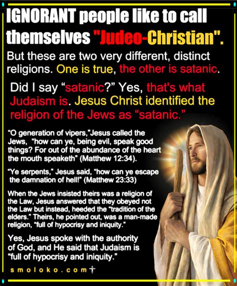 "TradCatKnight: The evangelical heresy of ""judeo-christianity"""