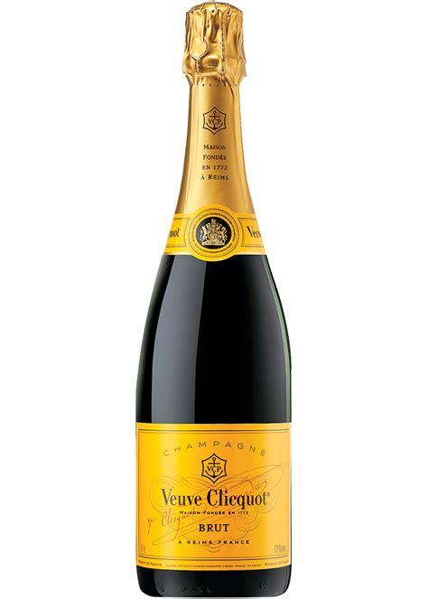 Image: bottle of Veuve Cliquot Champagne Raffle Prize