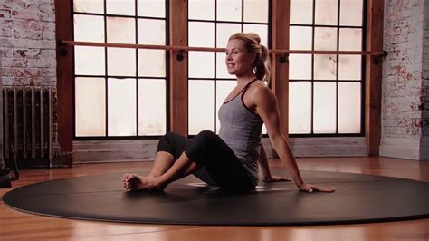 Yoga Burn 12 Week Challenge - Cobbler's Pose Beginner - YouTube