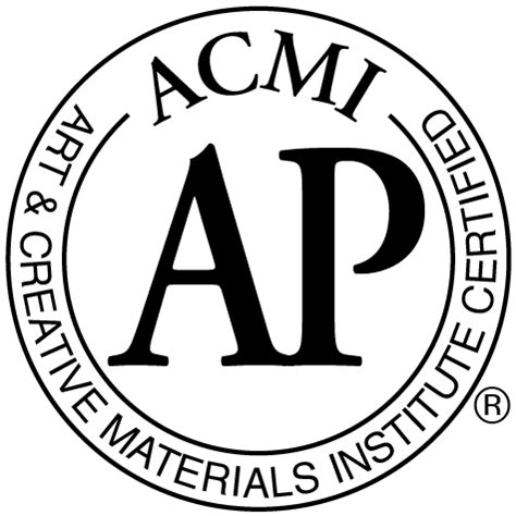 Are your art supplies toxic? Look for the ACMI seal ...