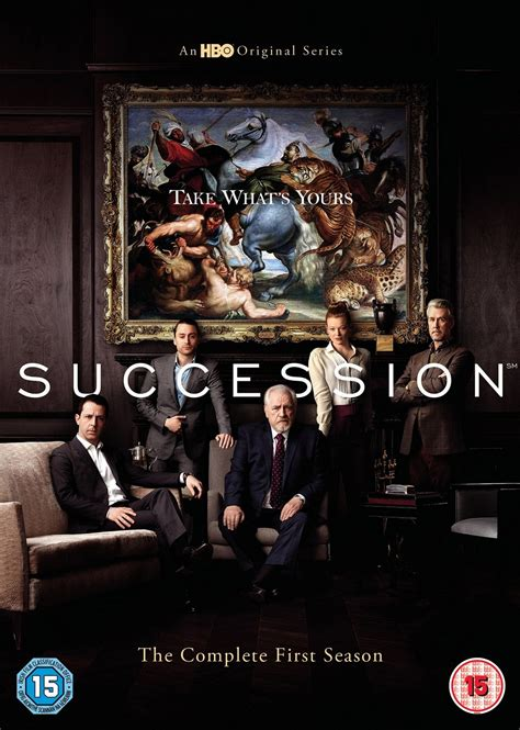 Succession: The Complete First Season | DVD Box Set | Free ...