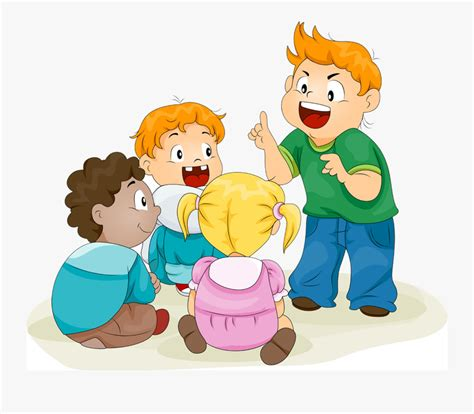 Storytelling Stock Photography Clip Art - Children Telling Stories , Free Transparent Clipart ...