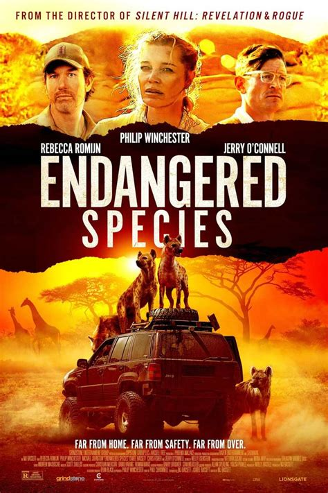 Endangered Species DVD Release Date June 1, 2021