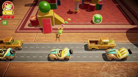 Apple Arcade Frogger in Toy Town 第二關 3星🌟 - YouTube