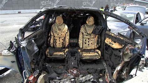 Fire chief: Tesla crash shows electric car fires could strain department resources | abc7news.com
