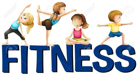 Kids Fitness Clipart | Free download on ClipArtMag