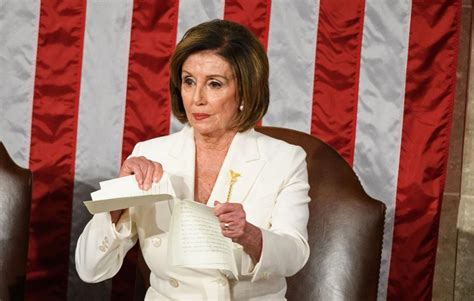 Nancy Pelosi Rips The State Of The Union Speech And The ...