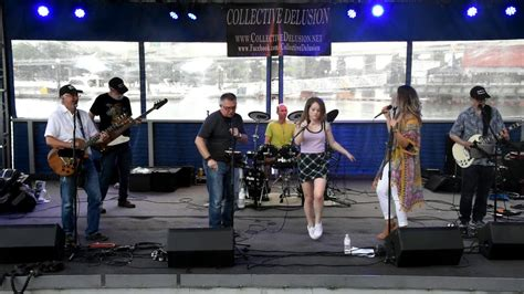 """Collective Delusion band performs """"Twist and Shout"""" 6-5-19 ..."""