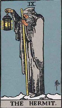 The Hermit (Tarot card) - Wikipedia