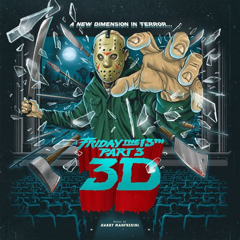 PREMIERE: Listen to Three Remastered Tracks from Waxwork Records' 'Friday The 13th Part 3 ...