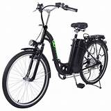 26'' 250W Electric Bicycle EBike Mountain Speed Change Lithium Battery Black | eBay