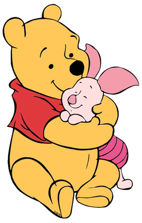 Winnie the Pooh and Piglet Clip Art 3 | Disney Clip Art Galore