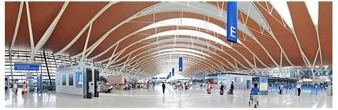 China Shanghai Pudong Airport Photograph by Songquan Deng