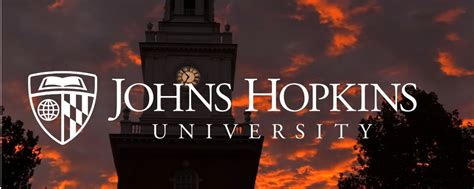 Johns Hopkins University has sent this detailed note on ...