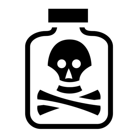 Poison bottle icon | Game-icons.net