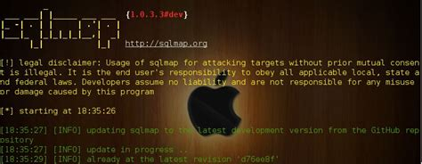 sqlmap v1.0.3#dev - Automatic SQL injection and database ...