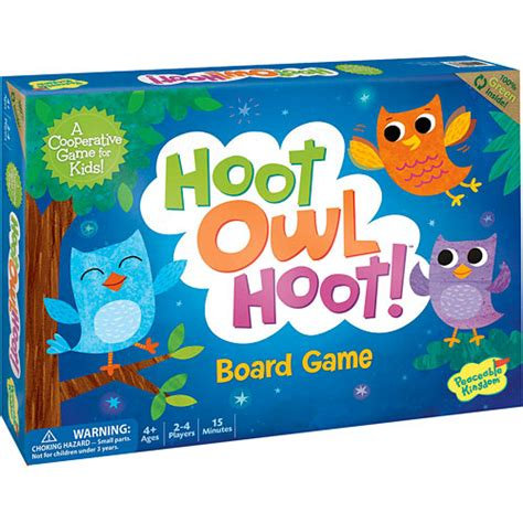 Hoot Owl Hoot! Game - Peaceable Kingdom