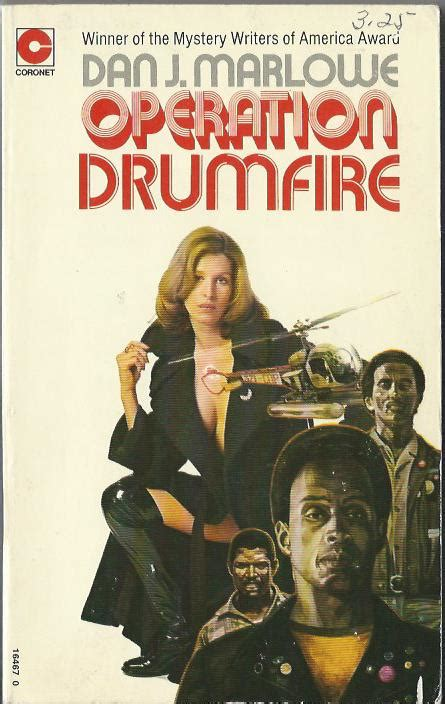 The Nick Carter & Carter Brown Blog: Operation Drumfire by Dan J Marlowe