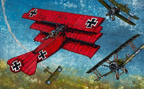 The Red Baron by David Lozeau | Day of the Dead