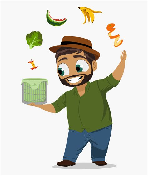 Compost In Cartoon , Free Transparent Clipart - ClipartKey
