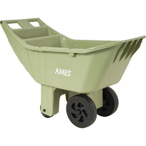 Ames 4cu ft Poly Garden Cart