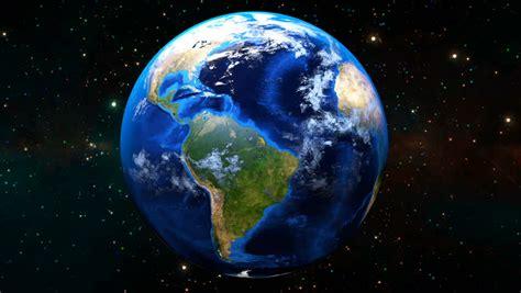 Beautiful Earth Rotation. Hd 1080. Stock Footage Video ...