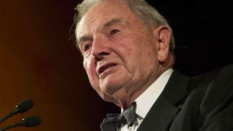 David Rockefeller — Philanthropist, Banker And Collector ...