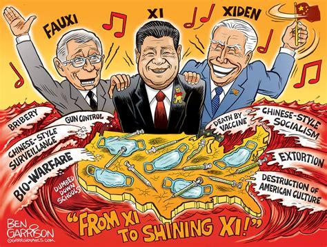 Xi to Shining Xi United States of China - Ben Garrison ...