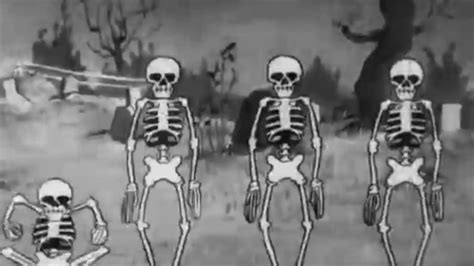 Spooky Scary Skeletons Original Song Video - YouTube