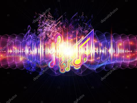 Fluctuations of sound energy — Stock Photo © agsandrew ...