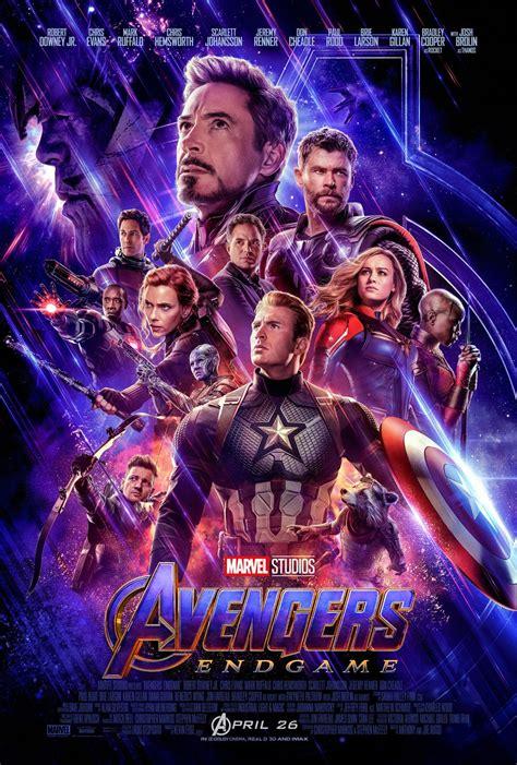 New Avengers: Endgame Poster Reveals the New Team | Collider
